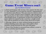 game event misses con t page 3 in district contract