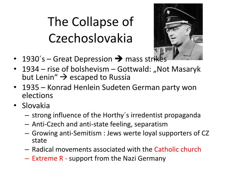 The Collapse of Czechoslovakia