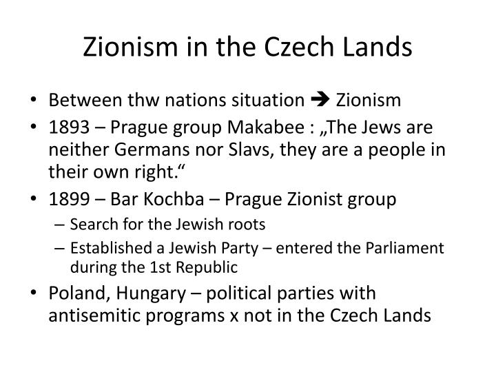 Zionism in the Czech Lands