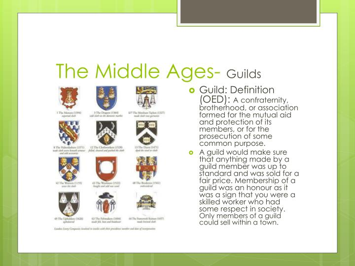 The Middle Ages-