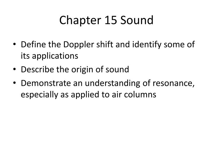 Chapter 15 sound2