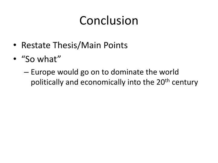 turner thesis main points The frontier thesis or turner thesis, is the argument advanced by historian frederick jackson turner in 1893 that the origin of the distinctive egalitarian, democratic, aggressive, and innovative features of the american character has been the american frontier experience.