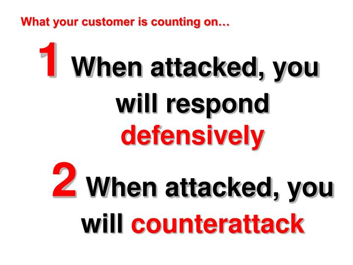 how to handle difficult customers at work