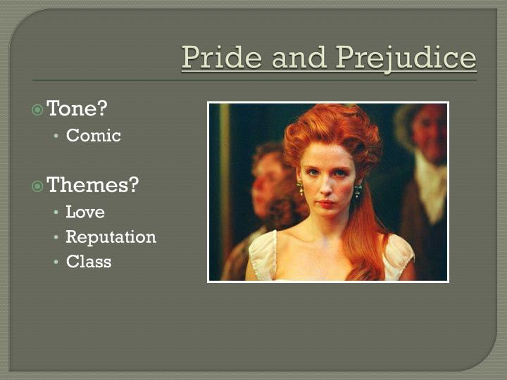 pride and prejudice tone