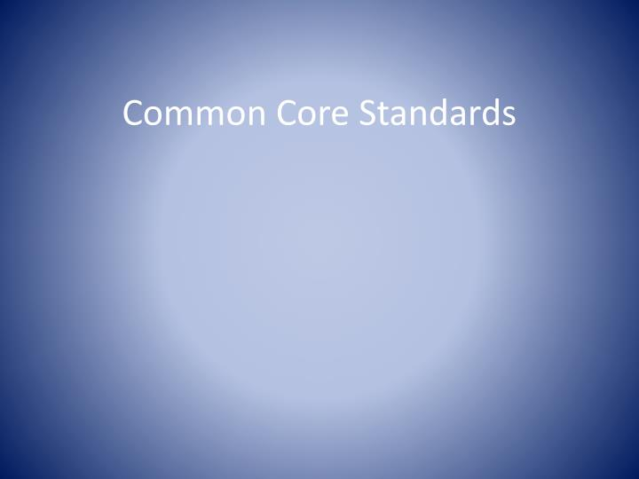 common core standards n.
