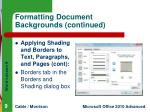 formatting document backgrounds continued3