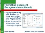 formatting document backgrounds continued4
