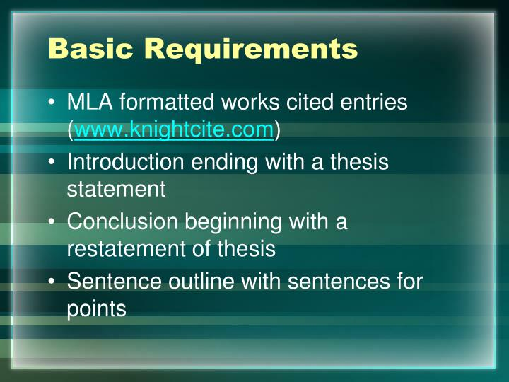 citing a thesis mla Mla stands for modern language association and is most commonly used to reference liberal arts and humanities an mla style paper typically includes a header, in-text citations, and a works cited page at the end of the paper.