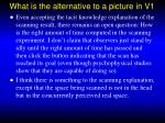 what is the alternative to a picture in v1