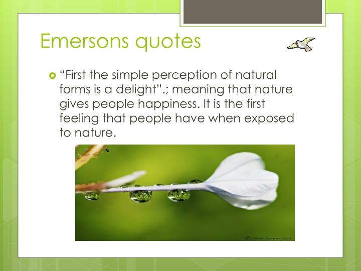 Emersons quotes