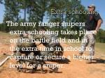 extra schooling