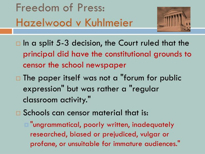 Freedom of Press: