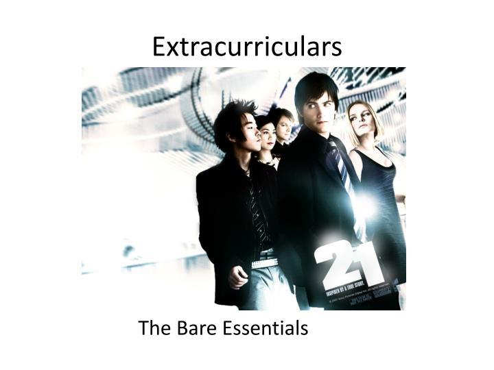 Extracurriculars