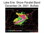 lake erie shore parallel band december 24 2001 buffalo