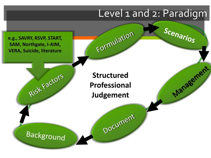 Level 1 and 2: Paradigm