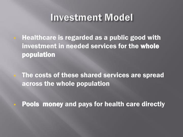 Investment Model