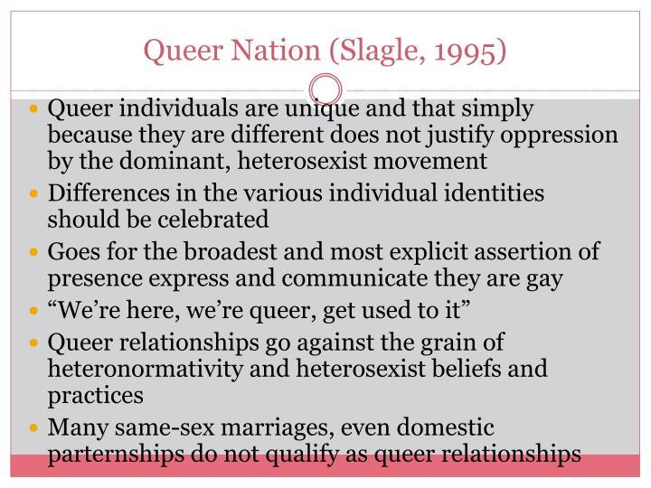 Queer Nation (Slagle, 1995)