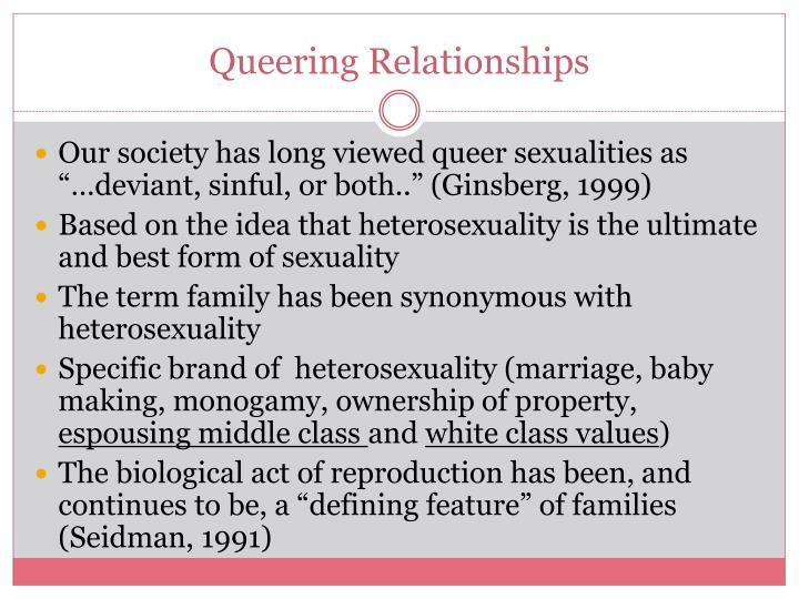 Queering Relationships