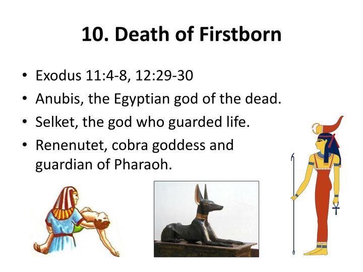 10. Death of Firstborn