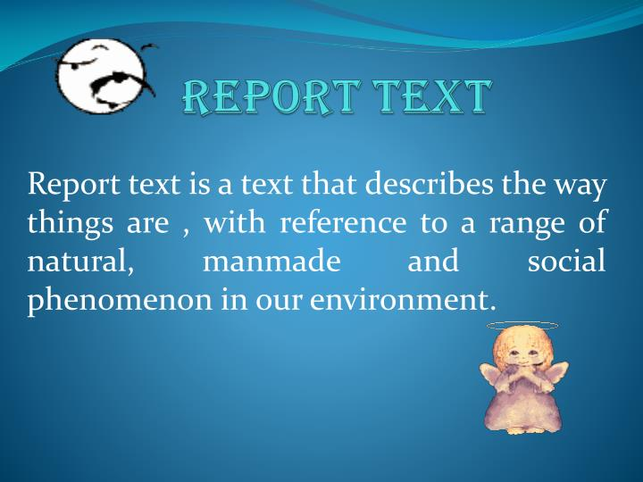 ppt report text