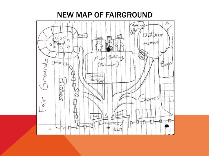 New map of fairground