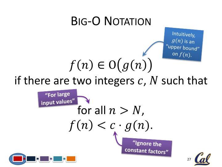 Big-O Notation