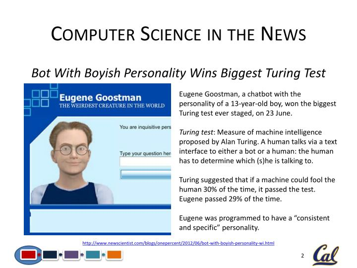 Computer science in the news