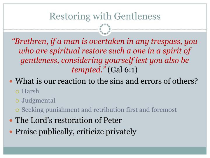 what is gentleness