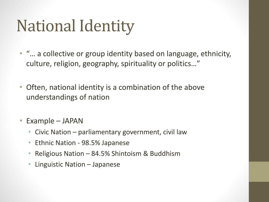 National Identity Definition