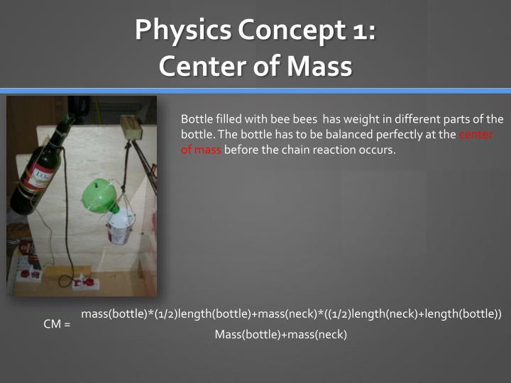 Physics concept 1 center of mass