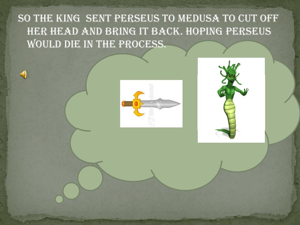PPT - The story of Perseus and Medusa PowerPoint