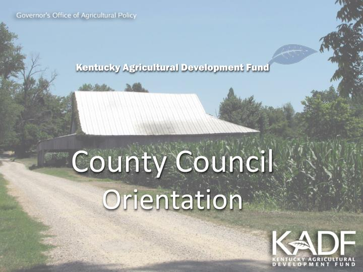 Governor s office of agricultural policy