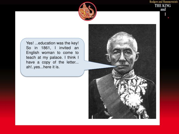 Yes! ...education was the key!
