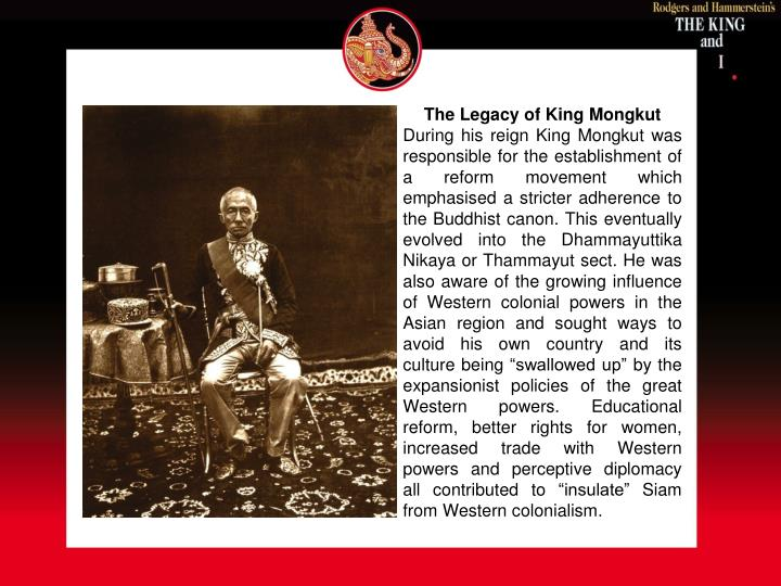 The Legacy of King