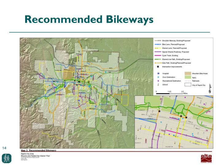 Recommended Bikeways