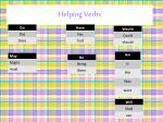 helping verbs1