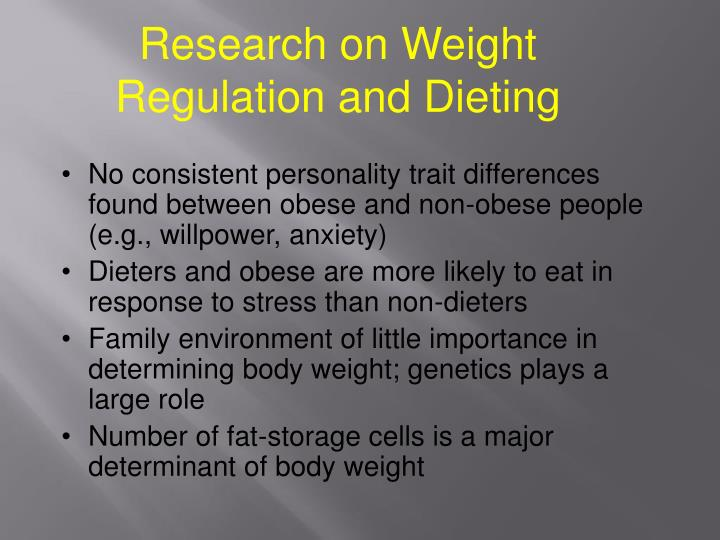 Research on Weight