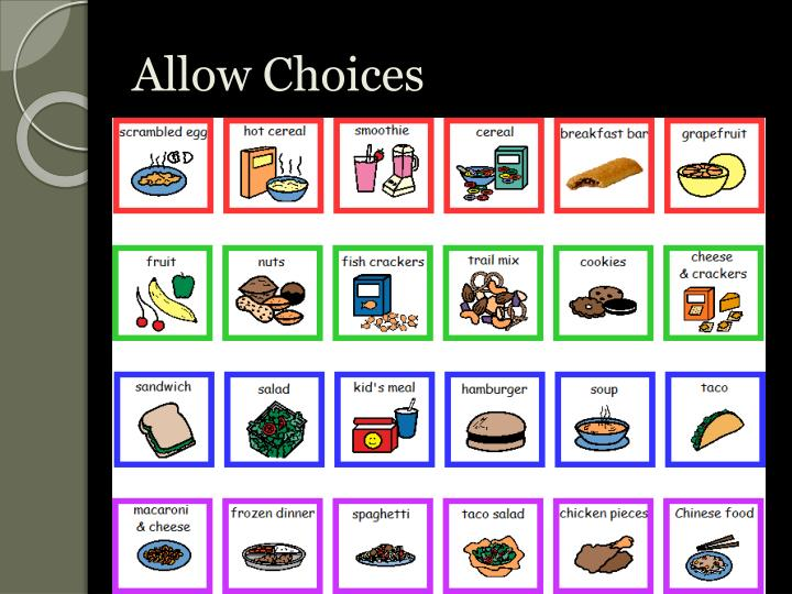 Allow Choices