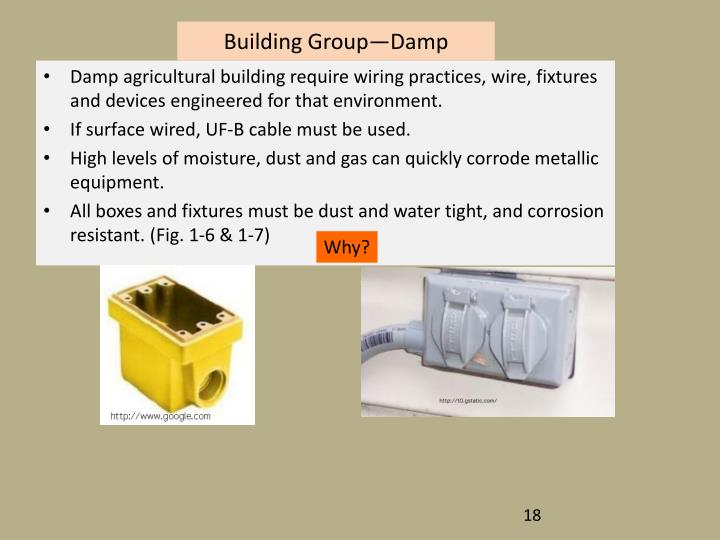 Building Group—Damp