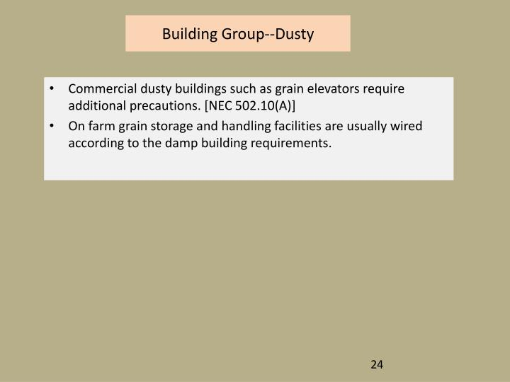 Building Group--Dusty