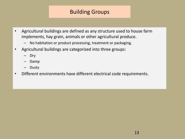Building Groups