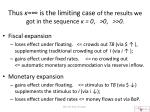 thus is the limiting case of the results we got in the sequence 0 0 0