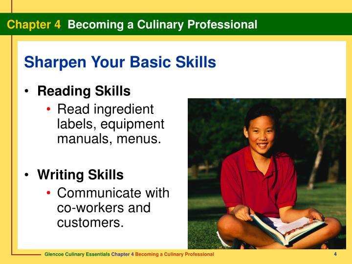 Sharpen Your Basic Skills