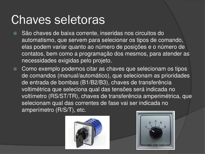 Chaves seletoras