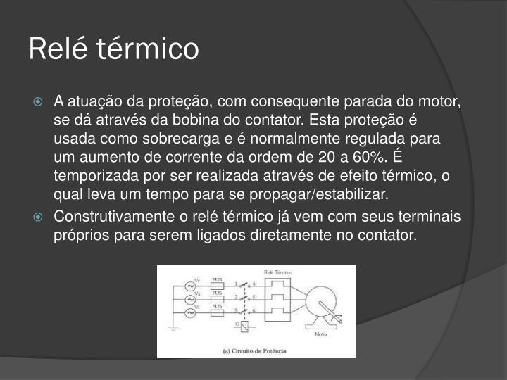 Relé térmico