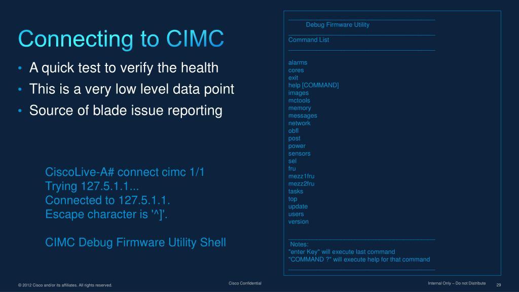 Cisco Cimc Port