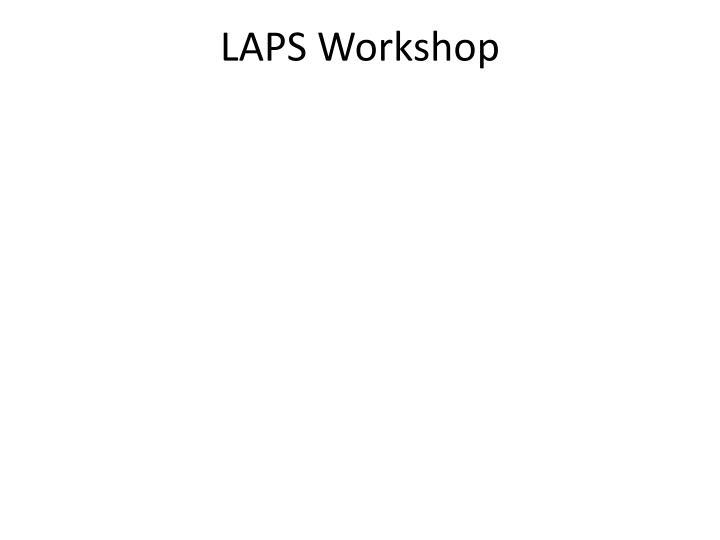 LAPS Workshop