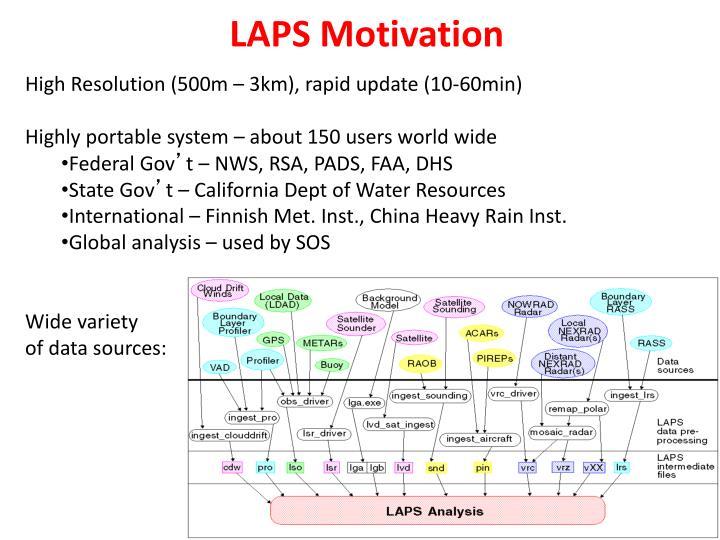 LAPS Motivation