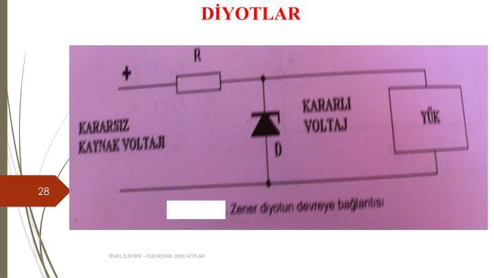 DİYOTLAR