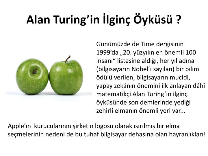 Alan Turing'in